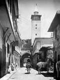 Damascus Street 1933 Photographic Print