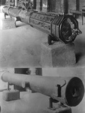 Old French Cannons Photographic Print