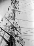 Coronation Sailors Photographic Print