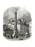 Paris, France - Place Du Chatelet Giclee Print