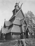 Norwegian Church Photographic Print