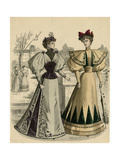 Costume of 1890S Giclee Print
