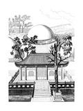 Confucius - Grave Giclee Print