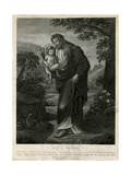 Saint Joseph and His Son Giclee Print