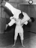Jujitsu Throw Photographic Print