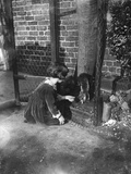 Rescued Squirrel 1932 Photographic Print