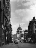 Fleet Street 1950S Photographic Print