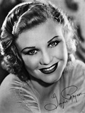 Ginger Rogers, W Way 1931 Photographic Print