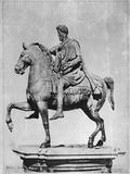 Marcus Aurelius Statue Photographic Print