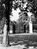 Regent's Park Gates Photographic Print