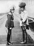 Franz Josef of Austria and Kaiser Wilhelm II of Germany Photographic Print