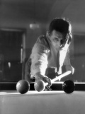 Billiards Player 1930S Photographic Print