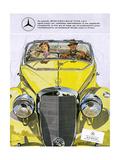 Mercedes Benz 170 S Giclee Print