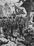 Turks Enter Larissa 1897 Photographic Print