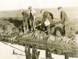 Eeling in Kent, 1930S Fotodruck