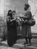 Egyptian Water Seller Photographic Print