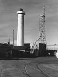 Radar Tower Photographic Print