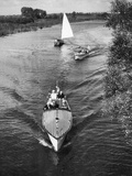 Boating Pleasures Photographic Print