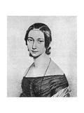 Clara Schumann Young Giclee Print