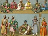 Racial, Iran, Men 19C Photographic Print