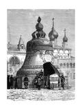 Tsar Bell, Kremlin Complex, Moscow, Russia Giclee Print
