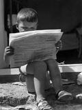 Potty News Photographic Print
