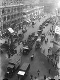 London Traffic 1930S Photographic Print