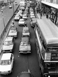 London Traffic Jam Photographic Print