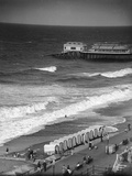 Cromer Beach 1930s Photographic Print