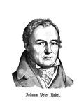 Johann Peter Hebel Giclee Print