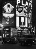 London, Piccadilly Circus - Fotografik Baskı