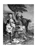 George Washington Premium Giclee Print