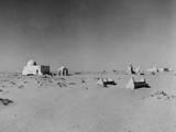 Desert Tomb Photographic Print