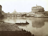 Italy Rome Castel Reproduction photographique