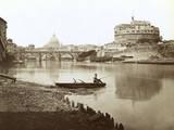 Italy Rome Castel Photographic Print