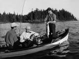 Canadian Salmon Fishing Photographic Print