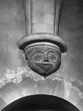 Medieval Corbel Photographic Print