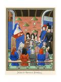 Jehan de Varennes, Froiss Giclee Print