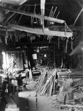 Old Smithy Interior Photographic Print