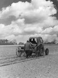 Drilling Sugar Beet Photographic Print