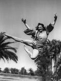 Flying Ballerina Photographic Print
