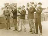 Nautical Students 1930s Photographic Print