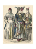 Racial, Turkey, Sultan Giclee Print