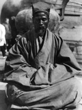 Chinese Begging Monk Photographic Print