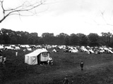 Camp Site 1930S Photographic Print