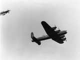 Lancaster Bomber in Air Photographic Print