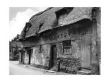 Bishop Bonner's Cottages Photographic Print