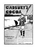 Cocoa Advert, Rowing Giclee Print