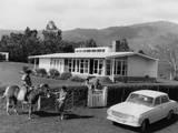 New Zealand Farmhouse Photographic Print