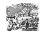 Picnic in Epping Forest Giclee Print